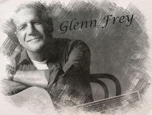 Glenn Frey - digital art by Iannozzi Giuseppe