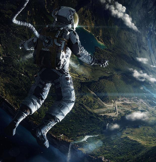 uomo dello spazio