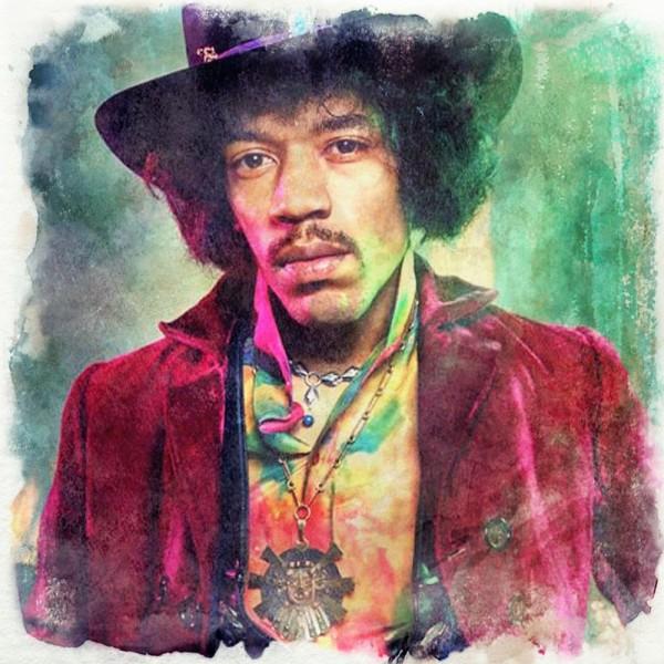 Jimi Hendrix - disegno digitale by Iannozzi Giuseppe