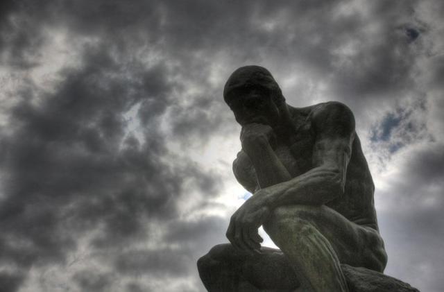 Il pensatore - Rodin