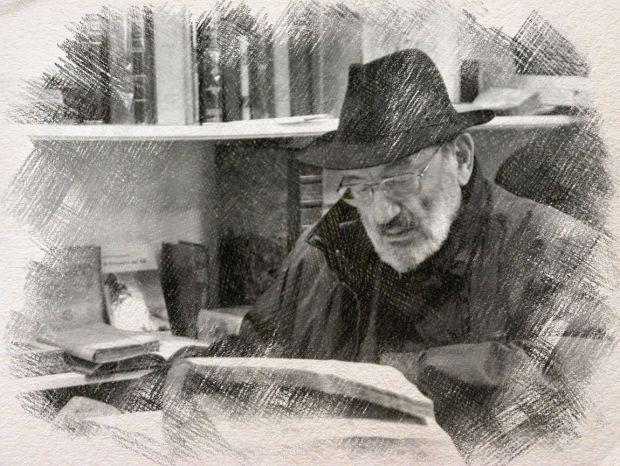 Umberto Eco - disegno digitale by Iannozzi Giuseppe