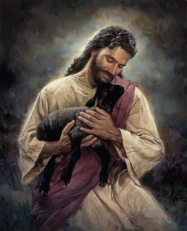 jesus-and-black-lamb