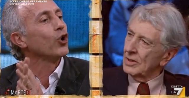 Marco Travaglio e Corrado Augias