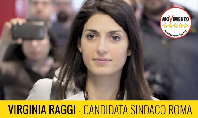 Virginia Raggi - candidata sindaco di Roma