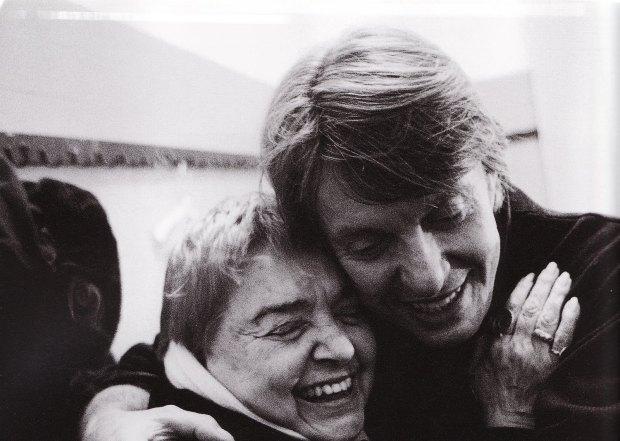 Fabrizio De André con Fernanda Pivano