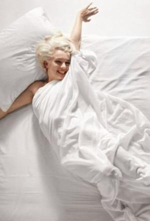 Marilyn sleeping