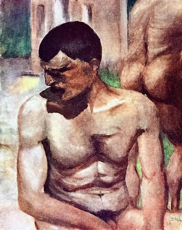 David Herbert Lawrence - painting