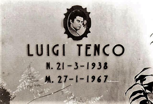 Luigi Tenco - lapide