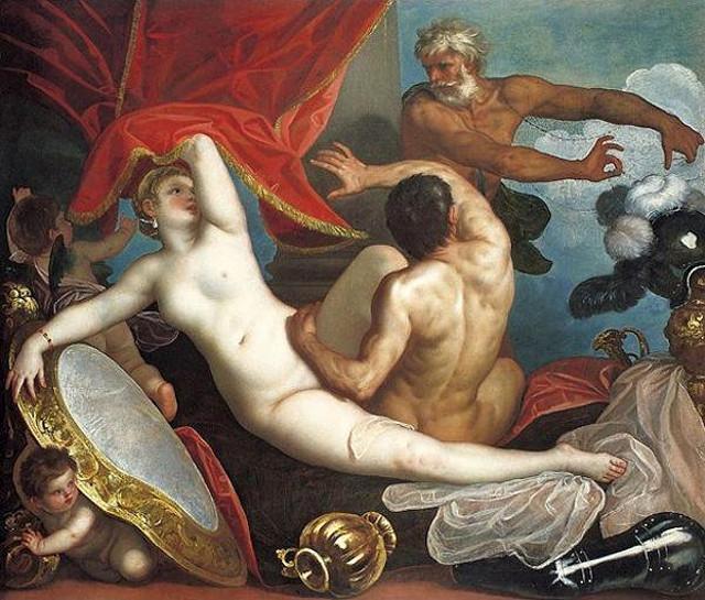 Venere, Marte e Vulcano