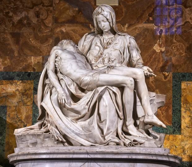 Michelangelo Buonarroti - La pietà