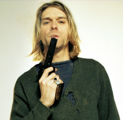 Kurt Cobain - gun