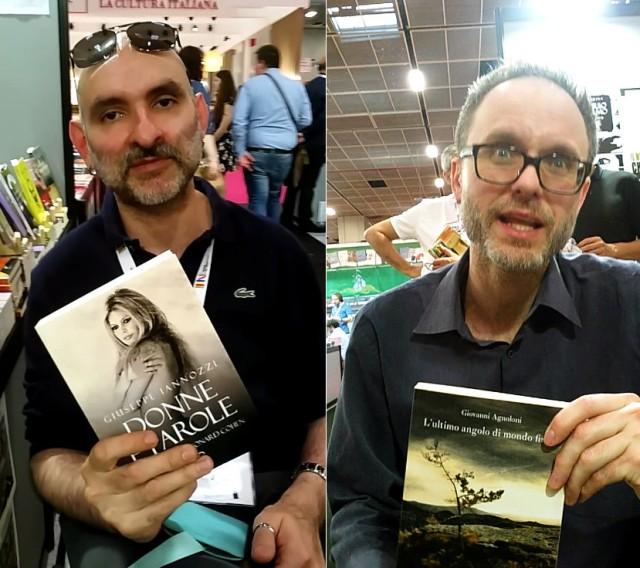 Iannozzi Giuseppe e Giovanni Agnoloni al Salone Internazionale del Libro di Torino, edizione 2017