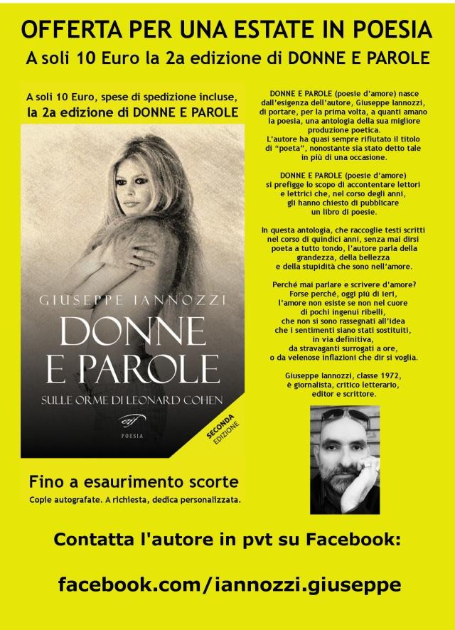 Donne e parole - acquista dall'autore la tua copia a 10 Euro