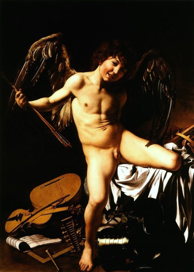 Caravaggio - Amore vincitore