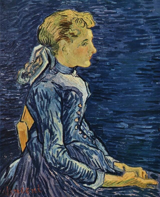 Van Gogh - Portrait d'Adeline Ravoux