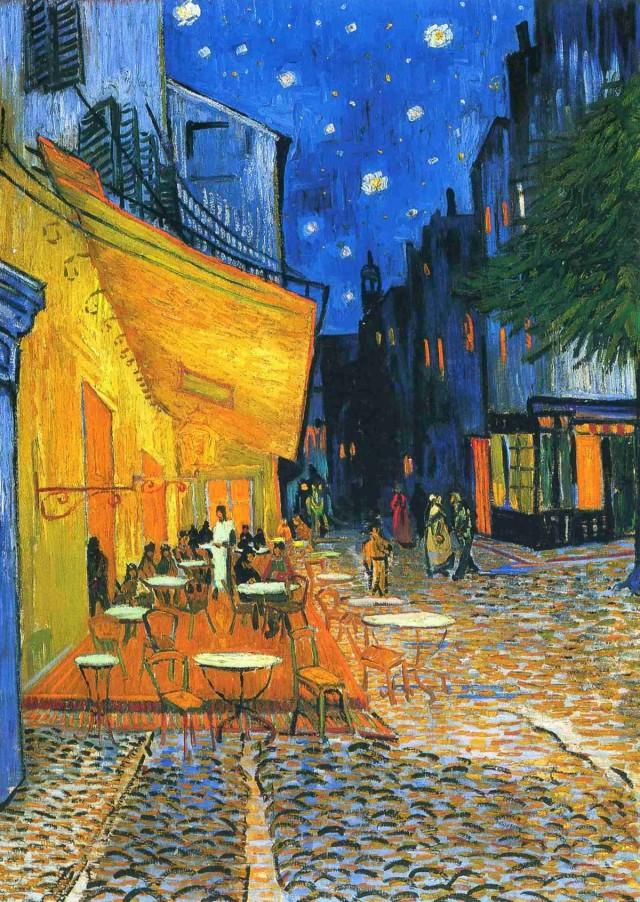 Vincent Van Gogh - Place du Forum. Arles