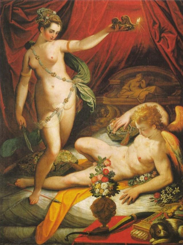 Amore e Psiche - Jacopo Zucchi