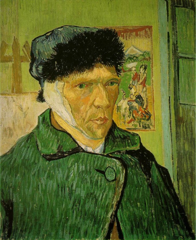 Van Gogh - autoritratto orecchio tagliato