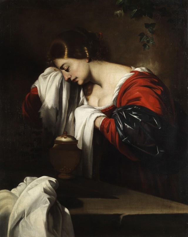 Maria Magdalena - lutto - Nicolas-Regnier (attr)