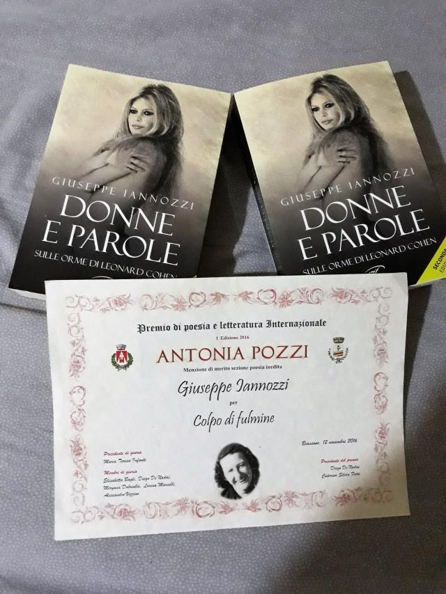 menzione Paola Pozzi a Iannozzi Giuseppe per Colpo di Fulmine