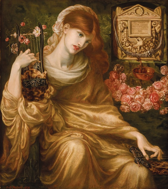 Dante Gabriel Rossetti - roman widow