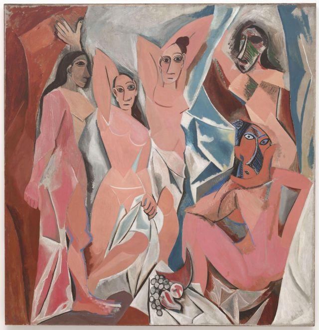 Les demoiselles dAvignon - Pablo Picasso