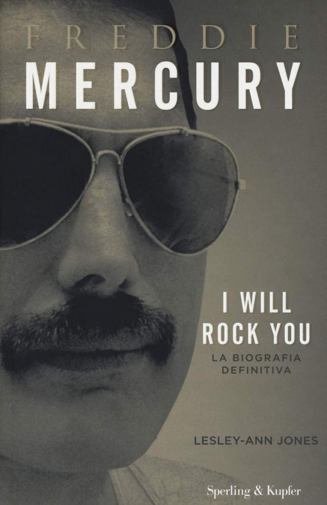 Freddie Mercury I Will Rock You - Lesley-Ann Jones