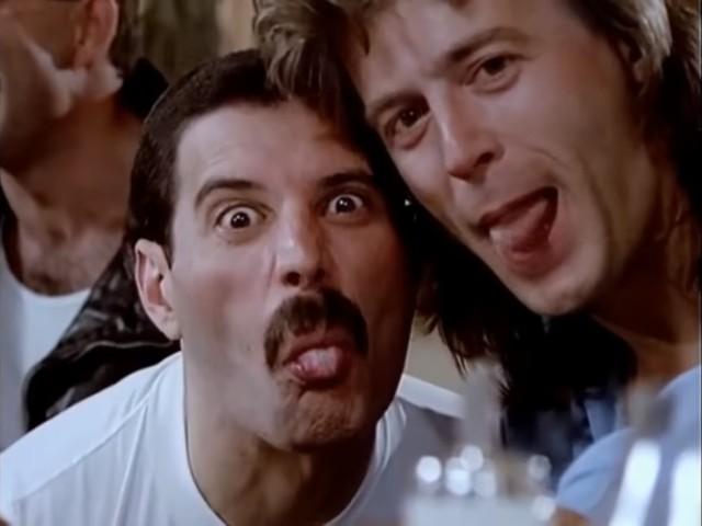 Freddie Mercury - tongue