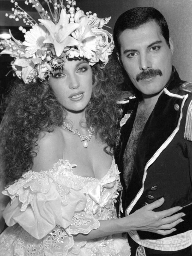 Freddie Mercury - wedding