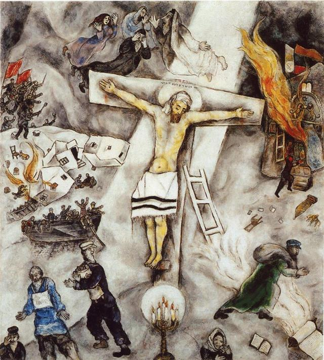 Crocifissione bianca - Marc Chagall