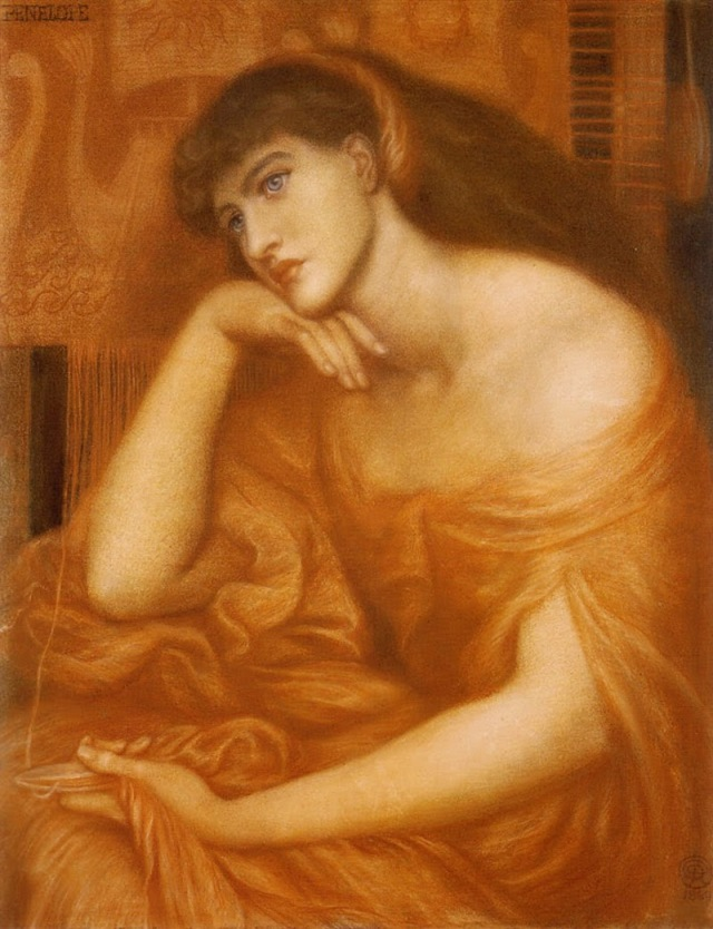 Penelope - Dante Gabriel Rossetti