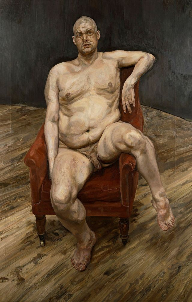 Lucian Freud - La solitudine dell'uomo