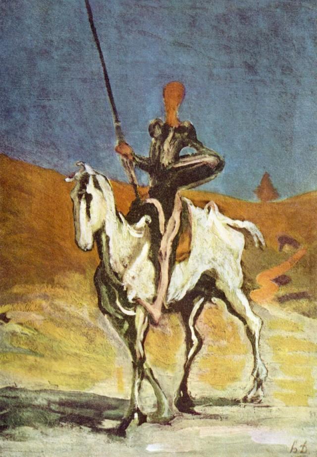 Don Chiisciotte - Salvador Dalì