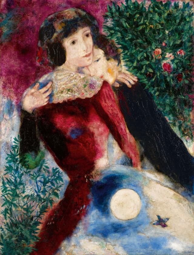 Les amoureux - Marc Chagall