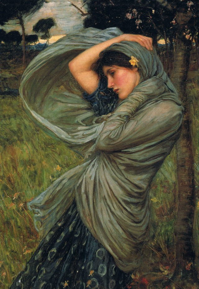 John William Waterhouse - Boreas
