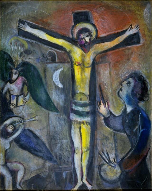 Marc Chagall - il Cristo