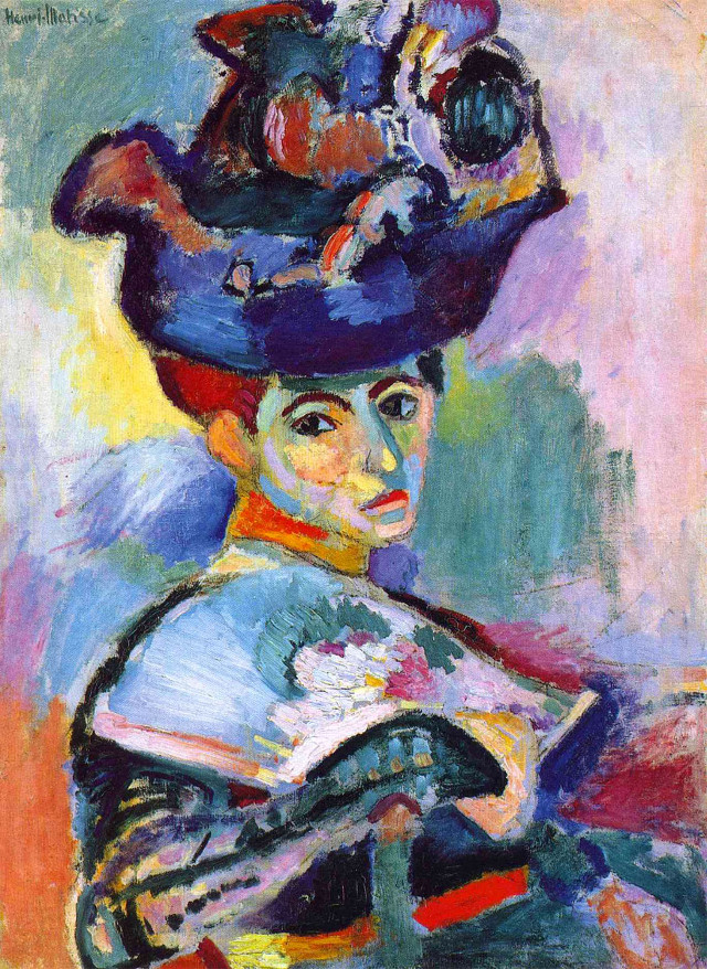 Henry Matisse - Woman with hat