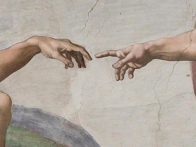 creazione di Adamo - Michelangelo