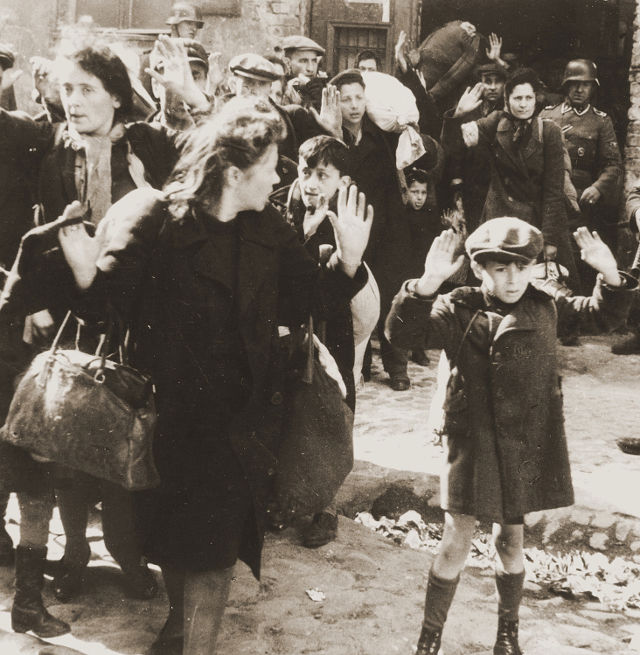 rastrellamento ghetto di Varsavia