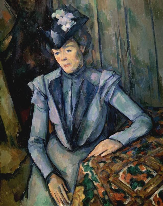 Paul Cezanne - ritratto di Marie Hortense Fiquet