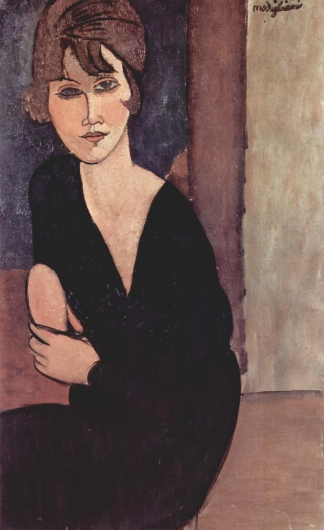 Modigliani - ritratto di madame Reynouard