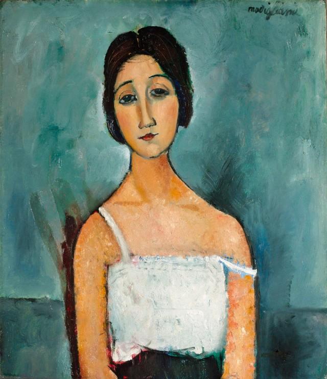 Modigliani - Christina