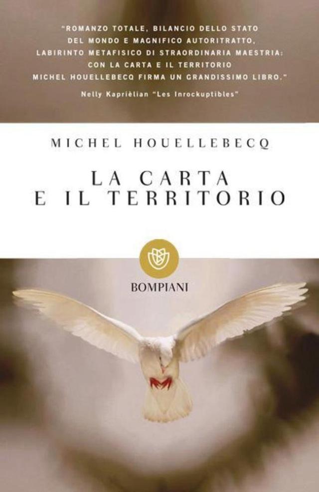 Michel Houellebecq - La carta e il territorio - Bompiani