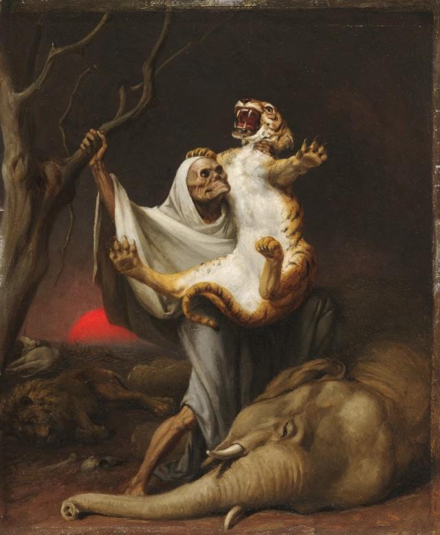 William Holbrook Beard -Power of Death