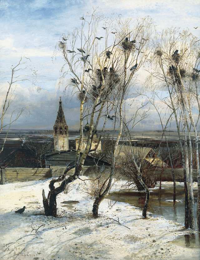 Alexey Savrasov - The Rooks Have Come Back