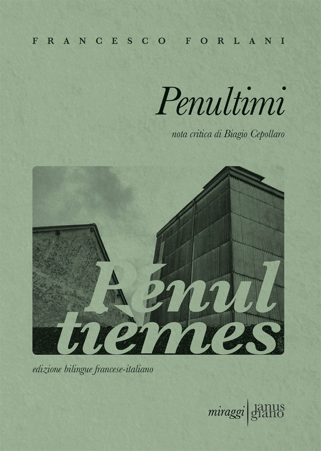 Penultimi - Francesco Forlani - Miraggi Edizioni