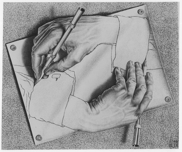 Maurits Cornelis Escher - Drawing Hands