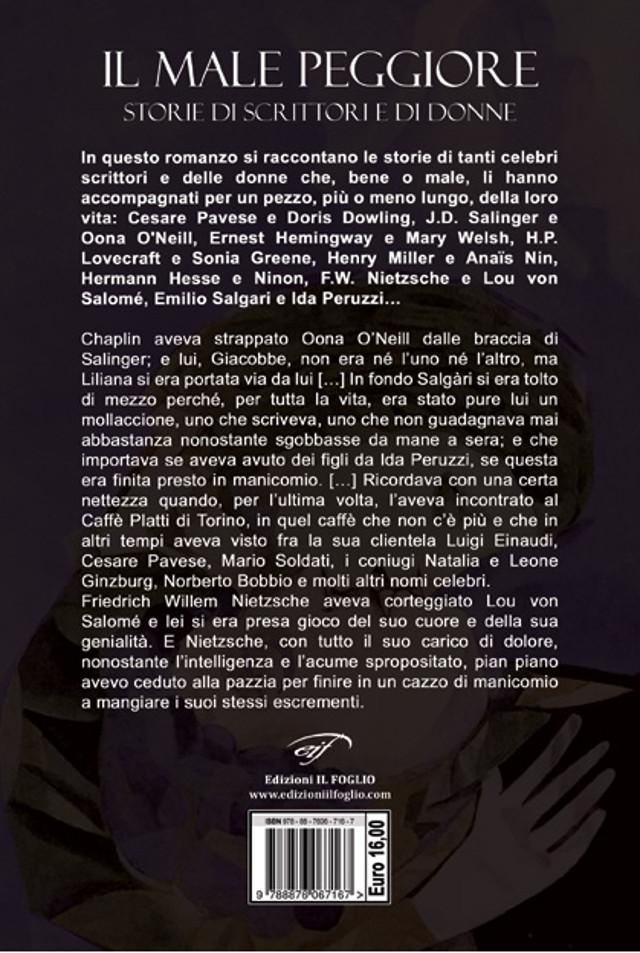 Il male peggiore - Iannozzi Giuseppe - Edizioni Il Foglio - copertina retro