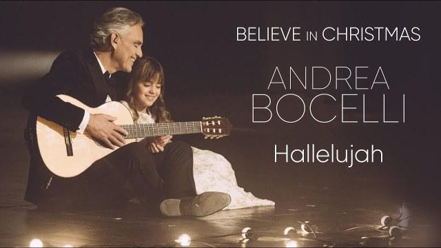 Andrea Bocelli e Virginia Bocelli - Hallelujah