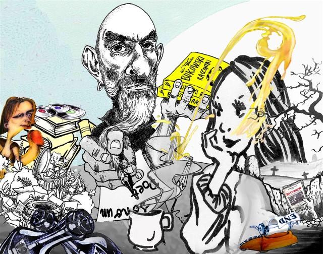 Iannozzi Giuseppe - caricatura di Riccardo Lenski